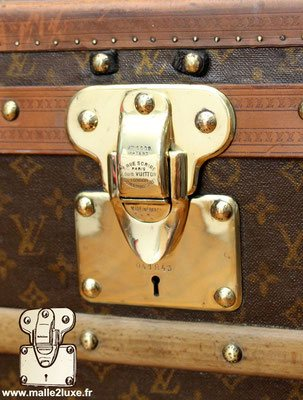 expertise en malle de collection malle Louis Vuitton