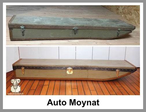 trunk automobile Moynat restore