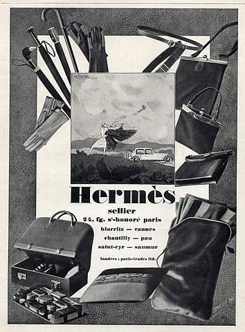 hermes luxe catalogue ancien