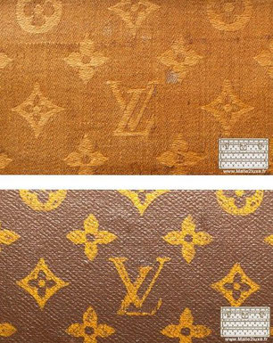 Revêtement toile mark Louis Vuitton