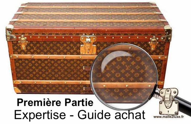 expertises malle ancienne vuitton