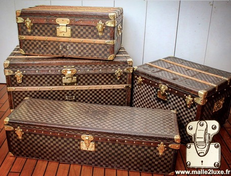 trunk louis vuitton old collection