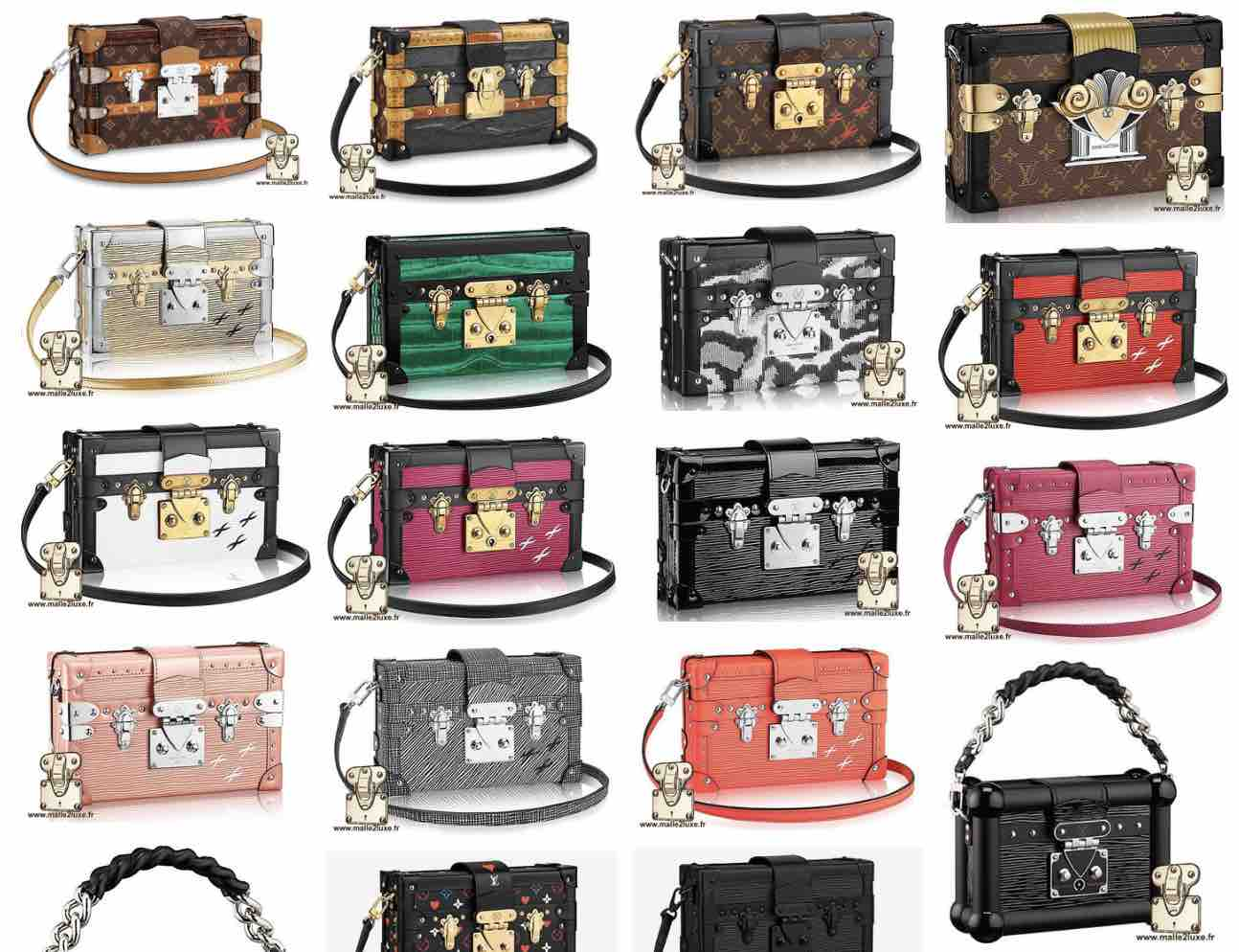 Sac petite Malle Louis Vuitton