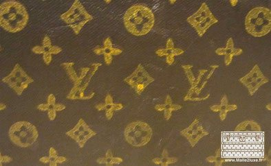 toile louis vuitton trunk malle pochoirs mark 3
