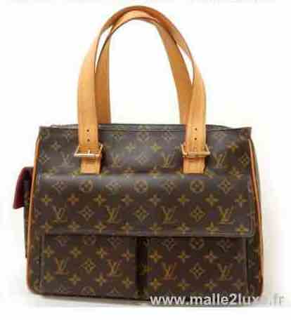 RULE N ° 4: CONTINUITY OF THE PATTERN trunk bag Louis Vuitton