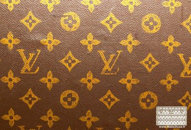 toile vuitton trunk malle pochoirs mark 2