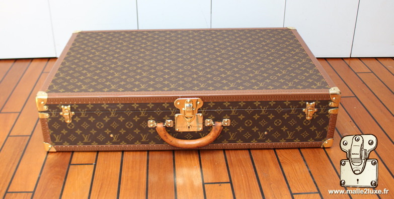 Louis Vuitton 6-groove lock bisten suitcase bisten