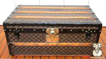 malle cabine louis vuitton damier mark 1