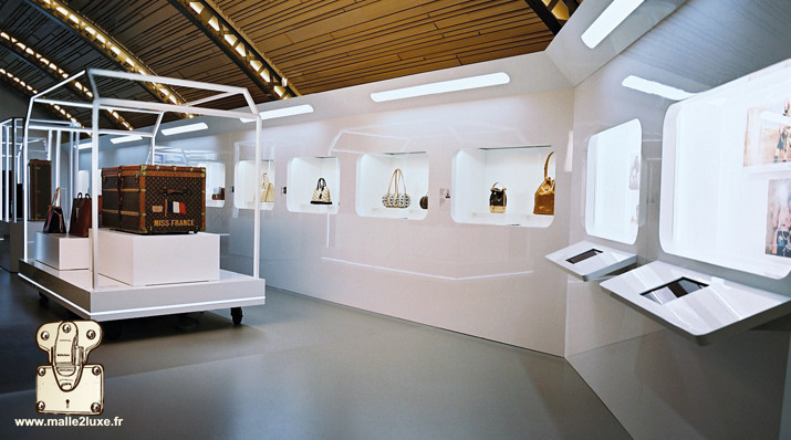 time capsule exposition Louis Vuitton