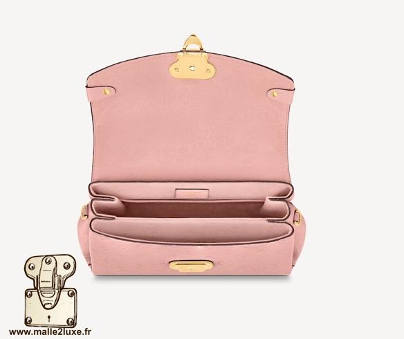 Sac Georges Vuitton intérieur de sac Rose