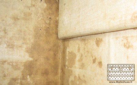 Intérieur malle louis vuitton toile champignon
