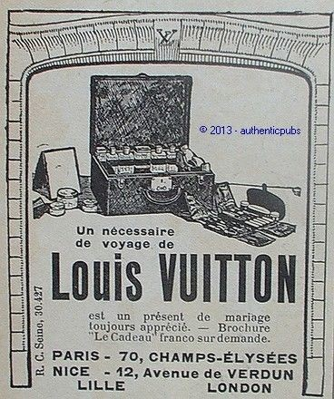 magazine ancien louis vuitton