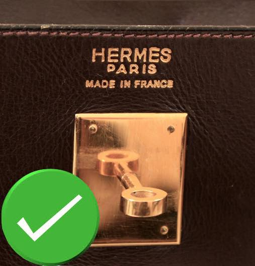 EXAMPLE OF TRUE AND FALSE MARKING hermes bag secret