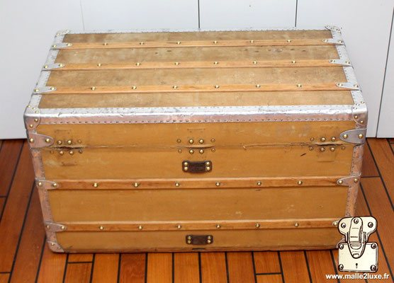 trunk louis vuitton aluminum for sale