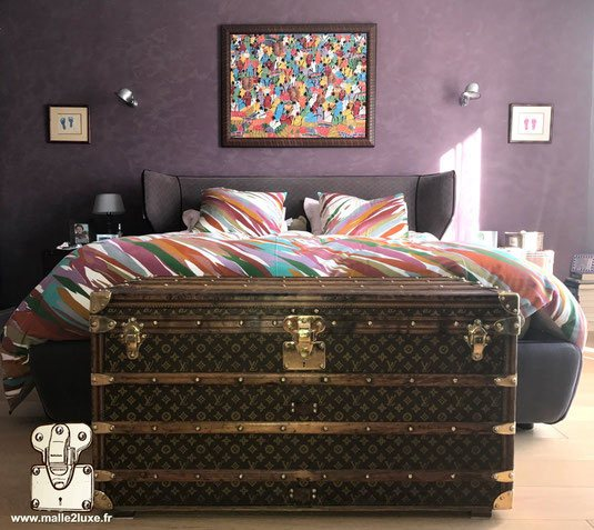 d coration design et amenagement d 39 int rieur malle louis vuitton. Black Bedroom Furniture Sets. Home Design Ideas