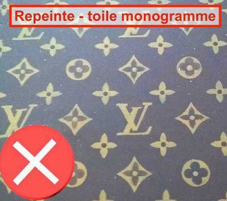 Louis Vuitton monogram canvas repainted a disaster