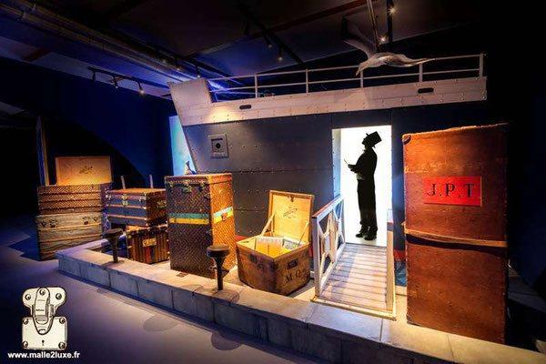 bateau titanic inauguration exposition malle de légende louis vuitton