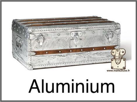 malle explorateur aluminium plus cher au monde Louis Vuitton