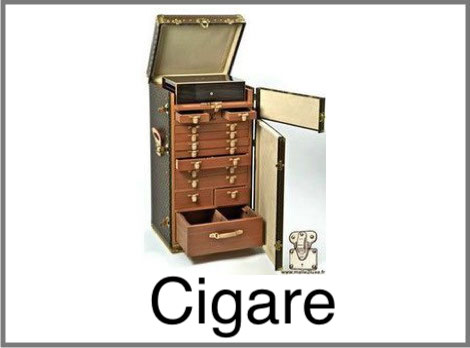 Malle à cigare Louis Vuitton
