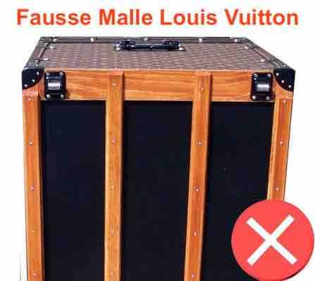 contrefacon de malle Louis Vuitton