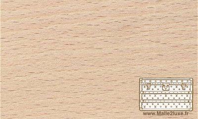 bois de hêtre bagage ancienne vuitton