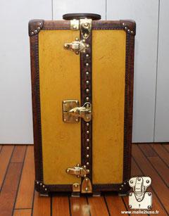 super louis vuitton brass trunk