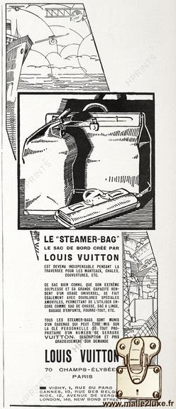 1927 - Louis Vuitton Steamer bag