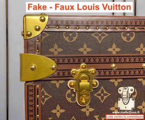 fake Louis Vuitton trunk