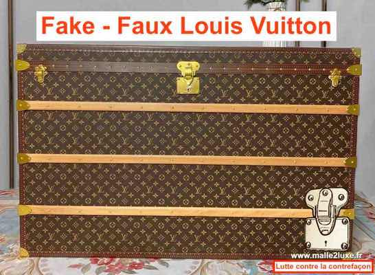 watch out for the fake louis vuitton trunk