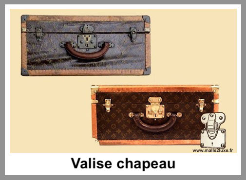 valise chapeau malle louis vuitton