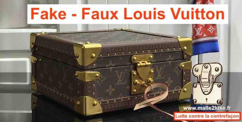 boite Louis Vuitton fausse