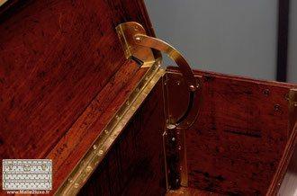 Louis Vuitton solid brass opening compass