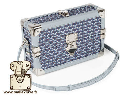 mini malle sac a main tendance it trunk pinel & pinel couleur