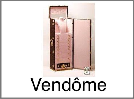 Malle Vendôme bijouterie Louis Vuitton