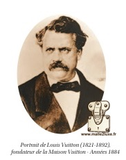 Trunk Georges Gaston Henry Louis Vuitton portrait of the greatest French Malletier