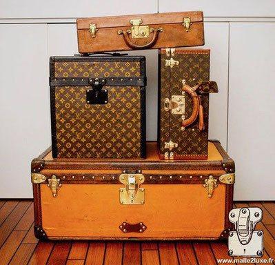 expertise de bagage ancienne de collection malle louis vuitton. Black Bedroom Furniture Sets. Home Design Ideas