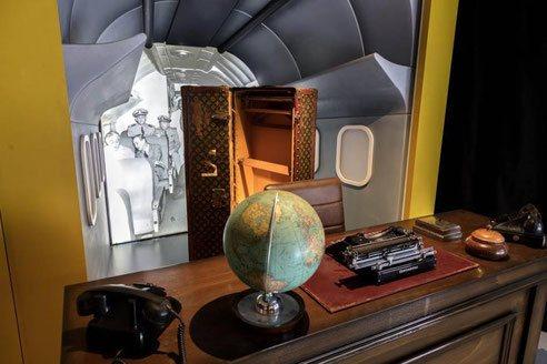 Wardrobe Louis Vuitton ayant appartenu a Franklin Delano Roosevelt - Président des Etats-Unis