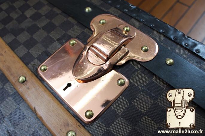 louis vuitton cabin trunk copper clasp