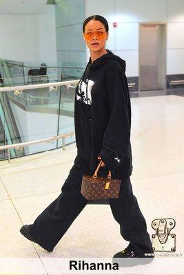 Rihanna aime les malles louis vuitton