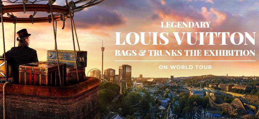 Exposition Legendary Louis Vuitton Bags & trunks