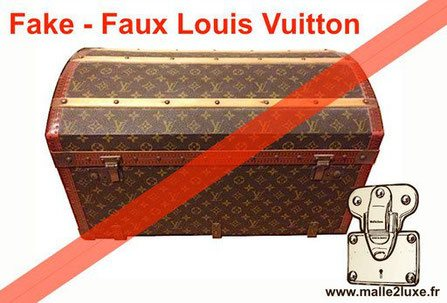 Malle Frankenstein louis vuitton customisation