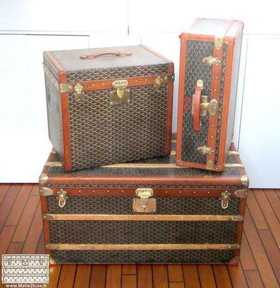 Specialist Passion Prize for Trunk and Goyard Suitcase