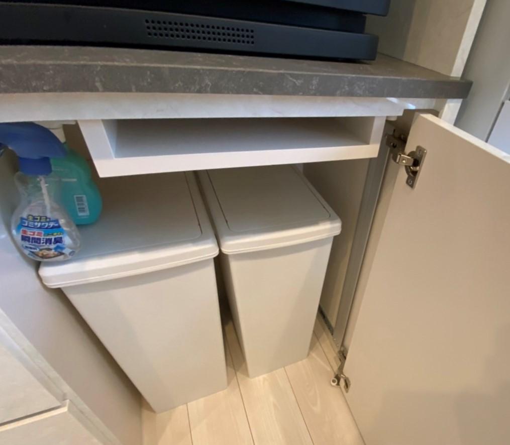 キッチンのゴミ箱どう収納する?