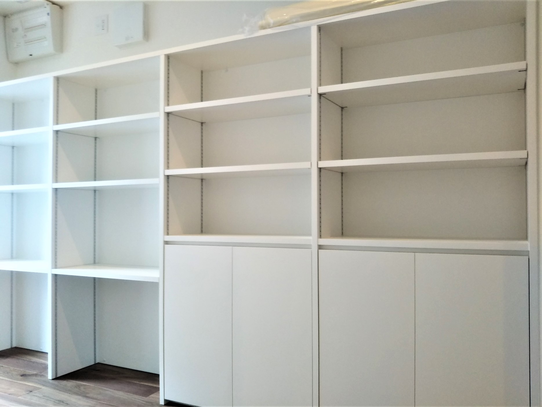 大容量のキッチンパントリー(収納棚)