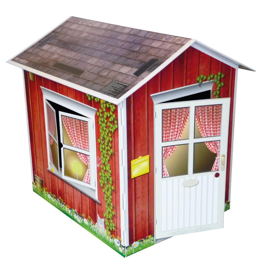 pappolino spielhaus aus pappe pappolino. Black Bedroom Furniture Sets. Home Design Ideas