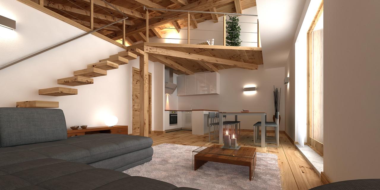 98 mq piano primo appartamento in baita venduto for Idee piano appartamento