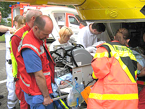 ECMO, verlegung, intensivtransport