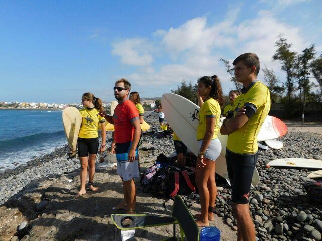 Surf Club Training Session Motivation