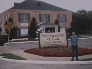 Sitio de residencia en mi estadia en Huston 1992