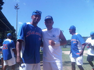 CAIMANERA DE SOFTBOL-31-12-11.ALCIDES ESCOBAR Y JUPITER BARRIOS-LA SABANA